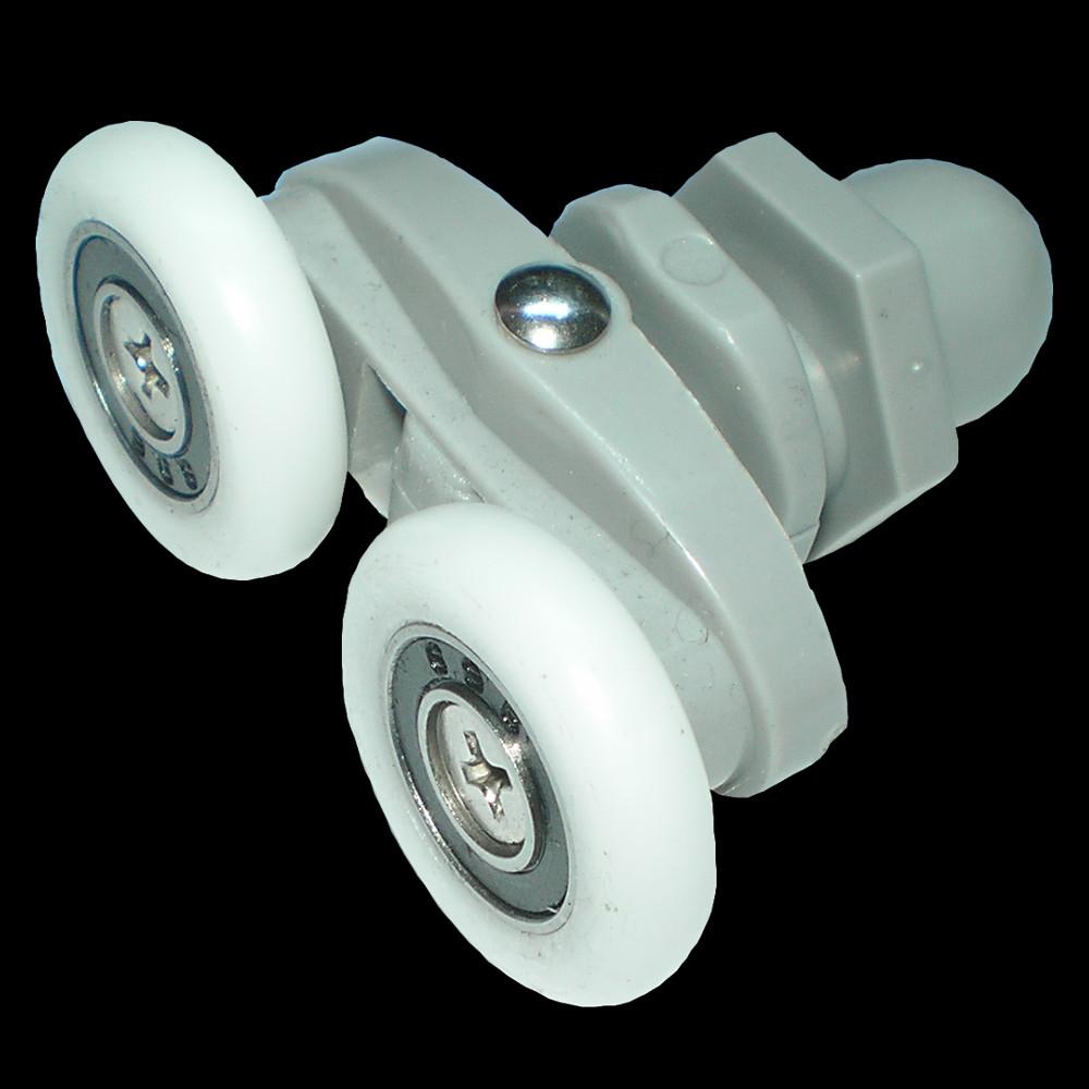 Roulette pour porte de douche cartouche pour mitigeur et pi ces divers - Roulette cabine de douche ...